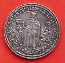 Österreich, Austria, 1/4 Taler, Deutscher Orden, Maximilian I.,  1614 n.C. vz/ss