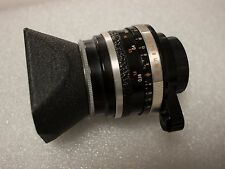 Carl Zeiss Flektogon 35mm F2.8 EXA with caps and original hood