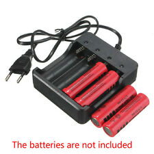 Best Eu Plug 4Slots Battery Charger With Protection 18650 Lithium-Ion Battery ss