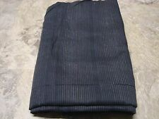 Black/Gray Pinstriped Woven Cotton Sheer Fabric 5yrds x 40in