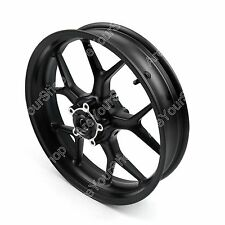 Black Motorcycle Front Wheel Rim For Ducati 848 EVO 2011-2013