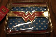 Wonder Woman SOHO Cosmetic Makeup Cosmetic Bag w/ Cape ~ Limited Edition ~ HTF!