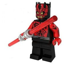 Darth Maul Jedi Star Wars Minifigure US SHIPPER Custom toy movie Phantom Menace