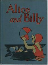 Alice & Billy - A Second Reader 1930 Lisson & Meader / Happy Childhood Readers