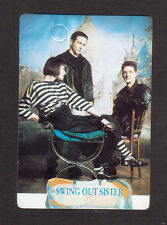 Swing Out Sister 1980s Pop Music British Card