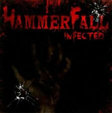 Infected by HammerFall (CD, May-2011, Nuclear Blast) sealed, will combine s/h