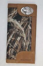 ZEP-PRO Labrador DOG LAB Leather & Nylon PEALTREE MAX-5 Camo WALLET ONLY NO BOX