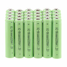 Profession 24Pcs AAA 3A 1.2 V 600mAh NI-MH rechargeable battery - Green
