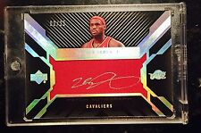 Lebron James UD Black Patch Auto /25 Upper Deck