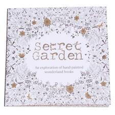English Version Of The Secret Garden Coloring Book Adult Kids Gifts 20 Pages S
