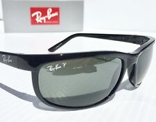 NEW* Ray Ban RB 2027 601/W1 POLARIZED Grey Lens BLACK PREDATOR 2 Sunglass $200