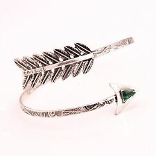 Arrow Boho Spiral Upper Arm Cuff Armlet Armband Bangle Bracelet Anklet Punk