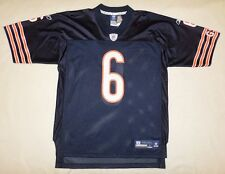 NFL Chicago Bears #6 Jay Cutler Youth Navy Reebok Jersey Size 10-12