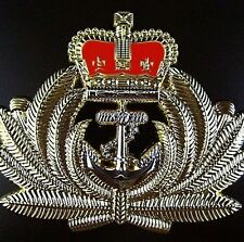 GENUINE ROYAL AUSTRALIAN NAVY OFFICER BERET HAT BADGE MEDAL