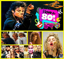 I Love The 80s - Non Stop Dj Video Mix - 100 Minutes of Classic Hitz!!!!!!