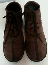 WHITE MOUNTAIN 'Lisa  Womens Size 9.5 M Brown Suede Shoes Hiking Outdoor Lace Up