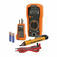 KLEIN 69149 Electrical Test Kit MM300 Multimeter NCVT-1 Tester Receptacle Tester