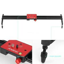 "Andoer 60cm/24"" Video Track Slider Dolly Rail Stabilizer for Canon DSLR Cam S4H4"