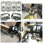 6pc Chrome Switch Cap Cover For Harley-Davidson Sportster Softail Dyna Road King