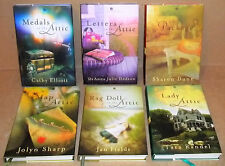 6 ANNIE'S ATTIC MYSTERIES HARDCOVER BOOKS WITH DUST JACKETS RAG DOLL THE MAP IN