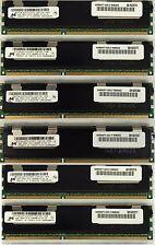 24GB (6X4GB) DDR3 ECC REG. MEMORY FOR DELL PRECISION WORKSTATION T5500, T7500