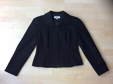 MANI By Armani Ladies Smart Black Zip Up Jacket, Size: UK 10 / EU 44