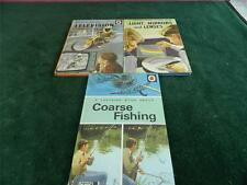 3 vintage ladybird books Coarse fishing , lights mirrors and lense , Television