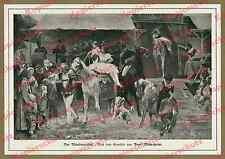 Meyerheim Wanderzirkus Artisten Pferdedressur Clown Cirque Olympique Paris 1865