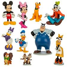 Mickey & Friends Mouse Clubhouse Toy Cake Topper Disney Toys Deluxe Play Set