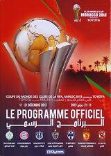 FIFA CLUB WORLD CUP 2013 Official Programme inc BAYERN