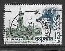 SPAIN POSTAL ISSUE USED AIRMAIL STAMP 1981 IBERO-USA EXPOSITION/ SEVILLA 1