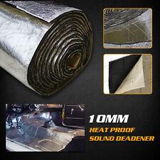 1.5M×1M 10mm Door Hood Proofing Trunk Heat Noise Sound Deadener Insulation MAT