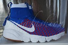 Nike Air Footscape Magista SP 652960 401 Red White Blue France QS NikeLab Sz 8