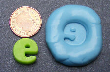 "Reusable Letter ""E"" Silicone Food Safe Mould, Mold, Sugarcraft, Jewellery, Cake"