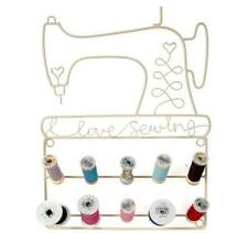 Love Sewing Bobbin Spool Thread Reel Holder Display Rack Stand Storage Craft New