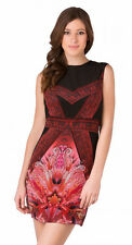 GOTTEX Indochine Black & Pink 100% Silk Beach Dress BNWT