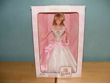 1998 BIRTHDAY WISHES Collector Edition Barbie Doll First in series 21128 NEW NIB