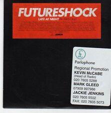 (EB750) Futureshock, Late At Night - 2003 DJ CD