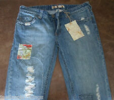 Quicksilver Roxy Jeans Sunset Flare Sz 11 Danielle Patch NEW Tag FREE US Ship