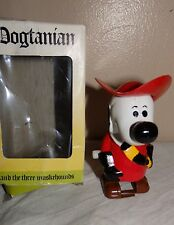 Vintage 1981 Star Toys Windup Clockwork Dogtanian Muskehound in Box Not Working