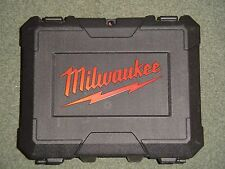 Milwaukee plastic carry case for M18BPD 18V Combi Drill
