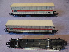 WAGONS marchandise porte container DB LIMA HO coach waggon nr2