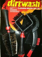 2 ×  DIRTWASH  CLEANING • TOTAL : 6 BRUSH SET Bike Motocross Home  •HIGH QUALITY