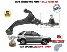 FOR KIA SPORTAGE 2004-2010 NEW LEFT FRONT LOWER WISHBONE ARM + BALL JOINT KIT
