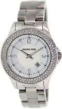 Michael Kors Women's Madison MK5401 Mother-Of-Pearl Stainless-Steel Quartz Watch