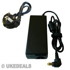 Fujitsu Amilo A1650G Laptop Charger AC Adapter 20V 4.5A + LEAD POWER CORD