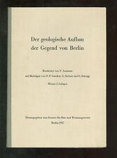 Der geologische Aufbau der Gegend von Berlin