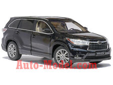 1:18 GAC Toyota 2015 Highlander Black Dealer Edition