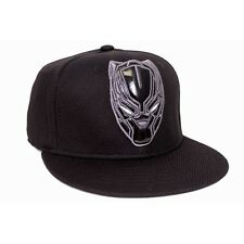 MARVEL'S CAPTAIN AMERICA CIVIL WAR BLACK PANTHER SNAPBACK CAP HAT *NEW*