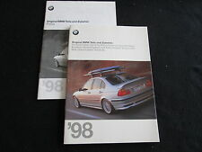 1998 BMW Accessories German Brochure Z3 E38 E46 328i E36 325i E39 540i Catalog